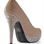 Swarovski shoes high heel back view