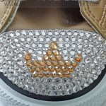 Swarovski Crystal Tiara Design on Converse