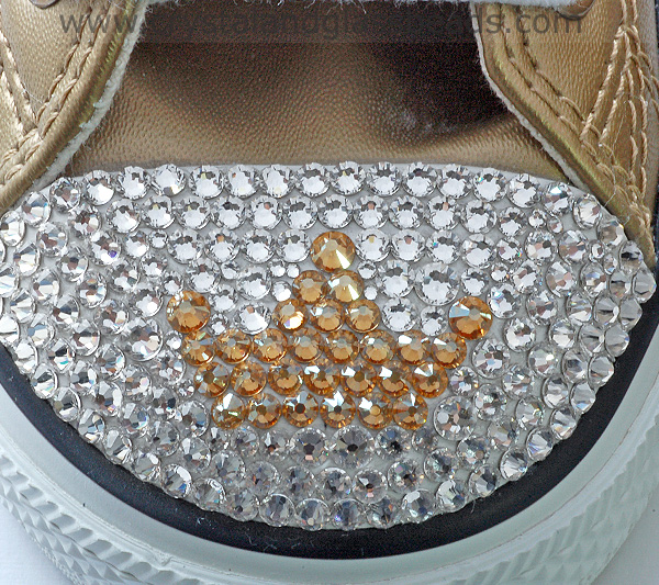 How To Create A Swarovski Crystal Tiara Converse Tutorial