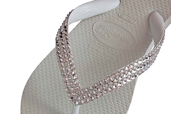 How to Crystallize Havaianas Flip Flops Tutorial – Deco Princess Test