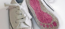 How To Crystallize Baby Converse Tutorial
