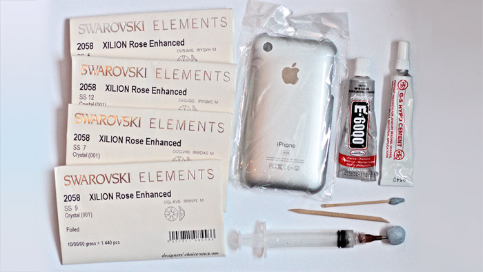 How to crystallize an iphone equipment needed
