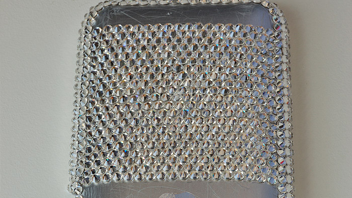 Add crystals row by row