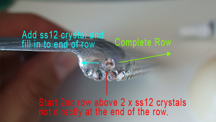 Second Row of Crystals
