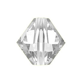Crystal 3mm Swarovski bicone beads 5301