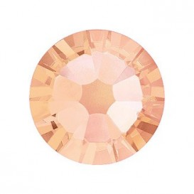 Light Peach ss12 Swarovski Hot-Fix Flatback Crystals 2038 Pack 50