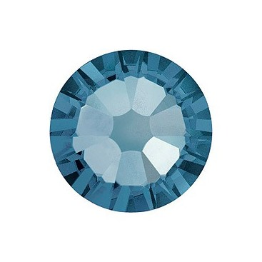 Denim Blue ss7 Swarovski Flatback Crystals Non-Hotfix Factory Pack 1440 Pcs